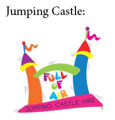 Full of Air Jumping Castle Hire